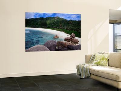 Granite Boulders of Anse Cocos Beach