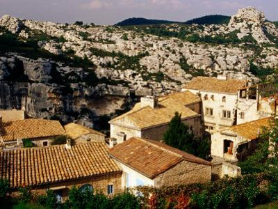 Hilltop Village in Les Alpilles, Les Baux De Provence, France