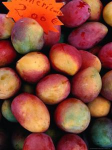 Mangoes for Sale on Roadside Stall, Reunion by Jean-Bernard Carillet