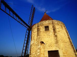 Moulin De Daudet (Daudet's Windmill), Fontvieille, France by Jean-Bernard Carillet