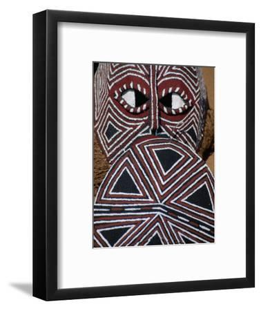 Painted Mask, Victoria Falls Park, Zimbabwe