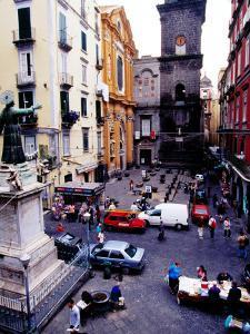 Piazza San Gaetano, Naples, Italy by Jean-Bernard Carillet