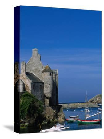 Port of Fishing Town, Le Conquet, France