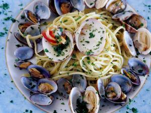 Spaghetti Alla Vongole, Naples, Italy by Jean-Bernard Carillet