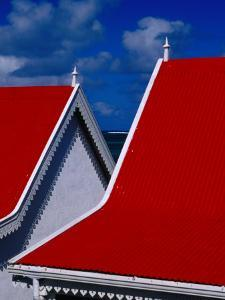 Traditional Creole Architecture on Rodrigues Island, Rodrigues by Jean-Bernard Carillet