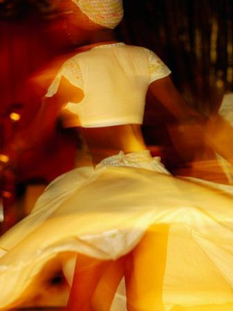 Woman Sega Dancing, Blur, Port Louis, Mauritius