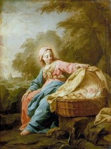 Rest on the Flight into Egypt, 1756 by Jean Bernard Restout