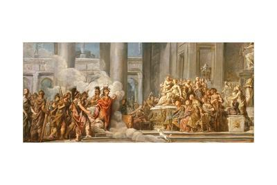 The Arrival of Aeneas in Carthage, 1772-4