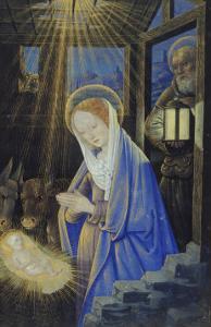 Nativity, c.1500 by Jean Bourdichon