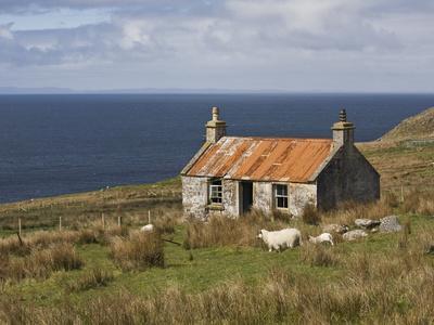 Abandoned Croft, Wester Ross, Highlands, Scotland, United Kingdom, Europe