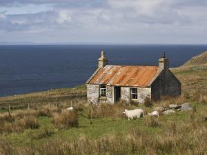 Abandoned Croft, Wester Ross, Highlands, Scotland, United Kingdom, Europe by Jean Brooks