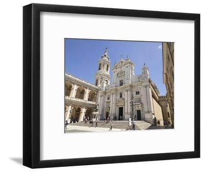 Basilica Della Santa Casa, Piazza Della Madonna, Pilgrimage Town of Loreto, Le Marche, Italy