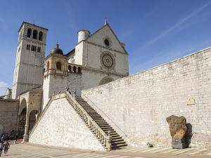 Basilica of St. Francis, Assisi, Umbria, Italy by Jean Brooks