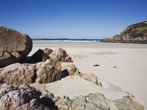 Ceannabeinne Bay, Near Durness, Sutherland, Scotland, United Kingdom, Europe by Jean Brooks