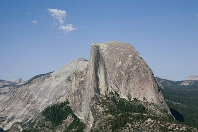 Half Dome from Glacier Point, Yosemite National Park, California, Usa