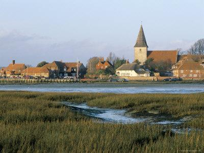Harbour and Church, Bosham, West Sussex, England, United Kingdom