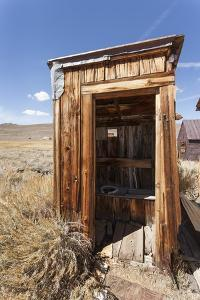 Outside Toilet, Bodie State Historic Park, Bridgeport, California, Usa by Jean Brooks