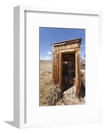 Outside Toilet, Bodie State Historic Park, Bridgeport, California, Usa