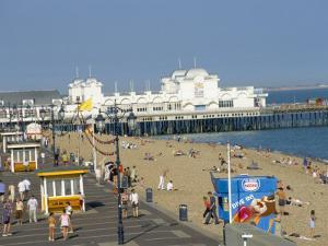 Pier and Promenade, Southsea, Hampshire, England, United Kingdom by Jean Brooks