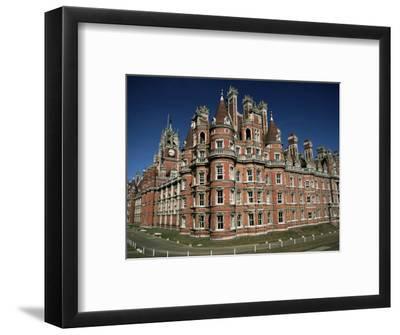 Royal Holloway College, Egham, Surrey, England, United Kingdom