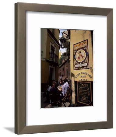 Tapas Bar, Barrio Santa Cruz, Seville, Andalucia, Spain