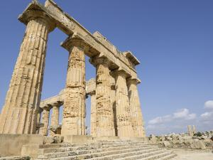 Temple of Selinunte, Sicily, Italy, Europe by Jean Brooks