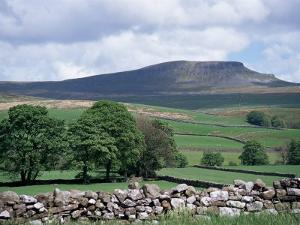 View of Pen-Y-Ghent, Ribblesdale, Yorkshire, England, United Kingdom by Jean Brooks