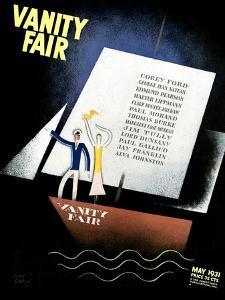 Vanity Fair Cover - May 1931 by Jean Carlu
