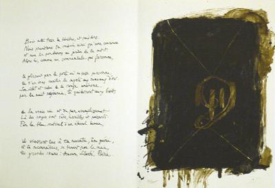 Jean Cassau-Antoni Tapies-Limited Edition
