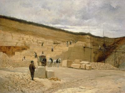 Monsieur Pascal's Quarry Near Nanterre