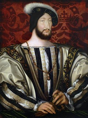 Portrait of Francis I (1494-154), King of France, Duke of Brittany, Count of Provence, Ca 1530