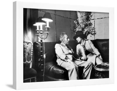 Jean Cocteau and Coco Chanel-Luc Fournol-Framed Photographic Print