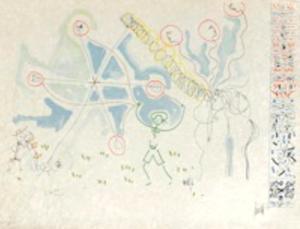 L'âge du verseau : ballons et hyéroglyphes by Jean Cocteau