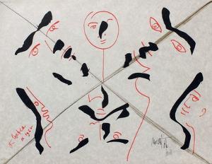 L'Âge Du Verseau : Faces Multiples by Jean Cocteau