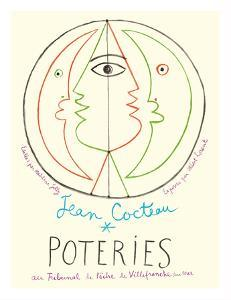 Poteries - Pottery Exhibition at the Tribunal de Pêche de Villefranche sur Mer by Jean Cocteau