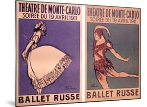 Theatre de Monte Carlo, Ballet Russe by Jean Cocteau