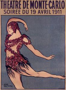 Theatre de Monte-Carlo by Jean Cocteau