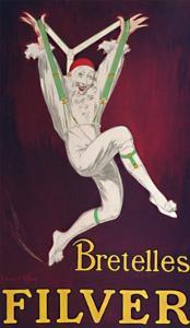 'Bretelles Filver - French Poster', c1926 by Jean D'ylen