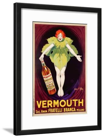 Poster Advertising 'Fratelli Branca' Vermouth, 1922