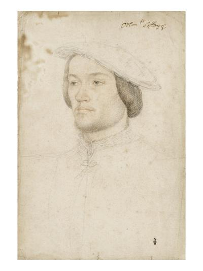 Jean de Brosse, duc d'Etampes (1505-1565)-Jean Clouet-Giclee Print