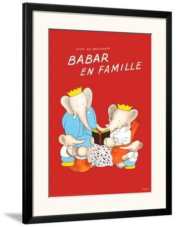 Jean de Brunhoff-Babar The Blue Carousel-2017 Poster