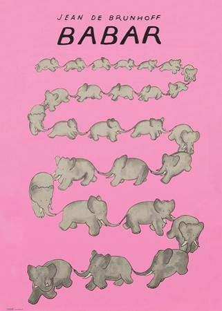 Babar The Pink Carousel by Jean de Brunhoff