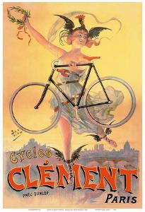 Cycles Clément Bicycles - Paris - Dunlop Tires by Jean de Paleologue
