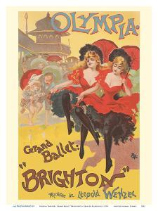 """Olympia Theatre - Grand Ballet """"Brighton"""" - Music by Leopold Wenzel by Jean de Paleologue"""