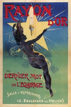 Rayon D'Or - Dernier Mot De L'Eclairage, 1895