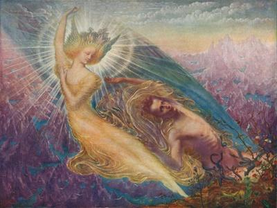 'The Angel of Splendours', c1894, (1911)