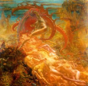 Tresors de Satan, 1895 by Jean Delville