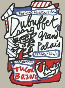 Coucou Bazar by Jean Dubuffet