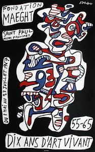 Expo Fondation Maeght by Jean Dubuffet