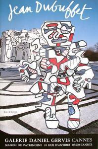 Expo Galerie Daniel Gervis II by Jean Dubuffet